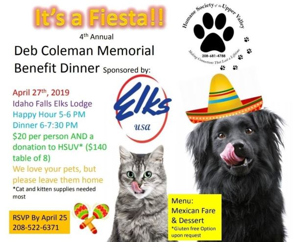 Deb Coleman Memorial Benefit Diner | idahofallsmagazine com