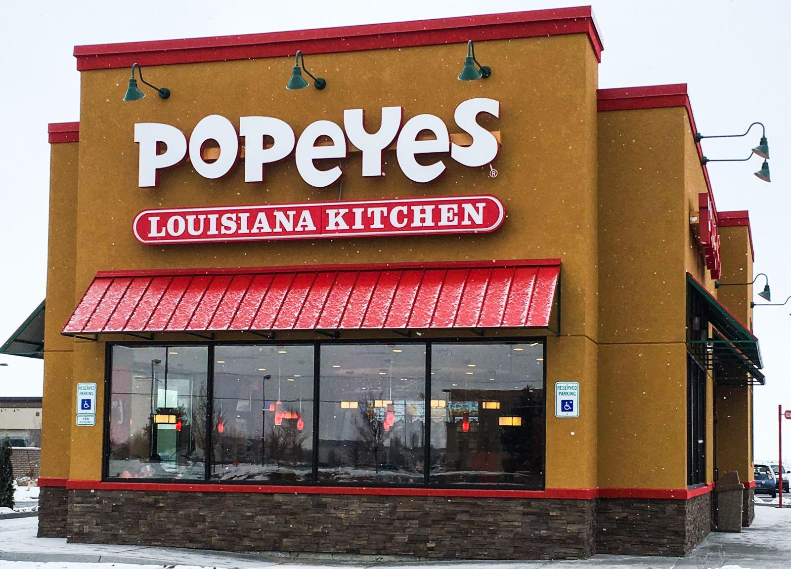 Popeyes Louisiana Kitchen Menu A Louisiana Kitchen At The Commons Popeyes Brings New Orleans